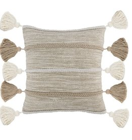 Elan Pillow Natural/Ivory - 20 x 20