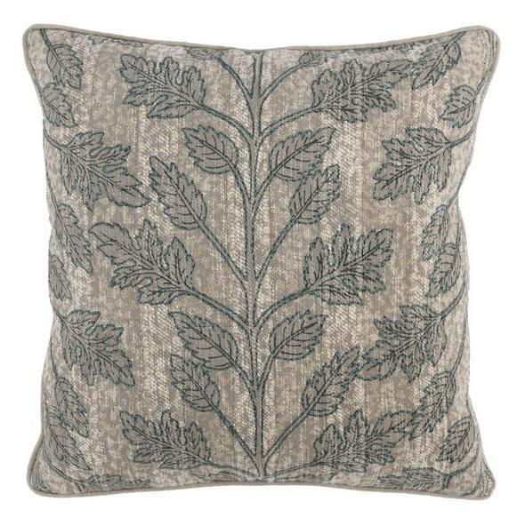 Alur Bay Pillow - Green/Natural 22 x 22