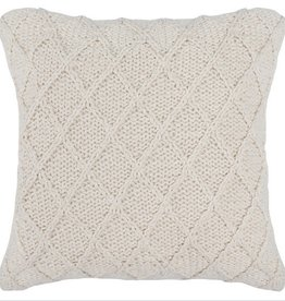 Catalina Pillow - Ivory 20 x 20