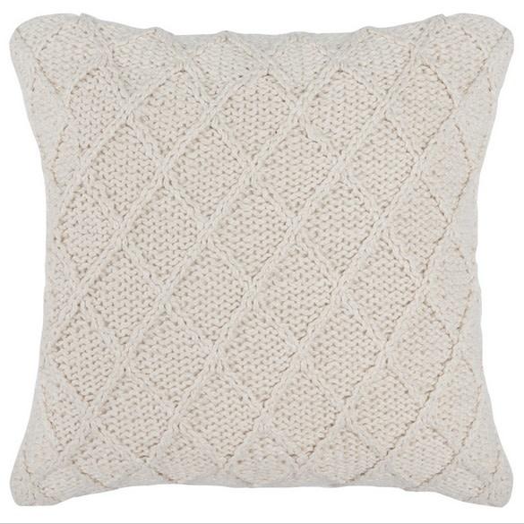 Catalina Pillow - Ivory 20 x 20