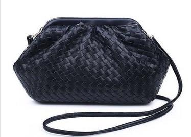 Magnetic Woven Shoulder Bag