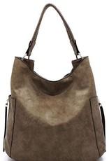 Intertwined Handle Shoulder Bag