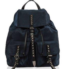 Studded Accent Front Pocket Backpack