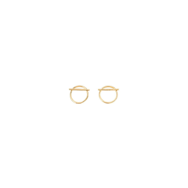 Uno de 50 Switch On Earrings Gold