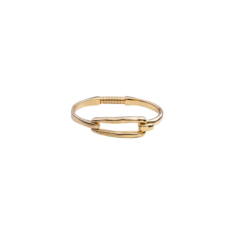 Uno de 50 Tied Bracelet Gold M