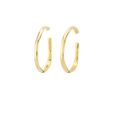 Uno de 50 Ohmmm Earrings Gold