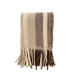 Whistler Woven Throw Taupe