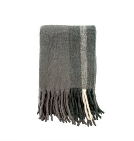 Whistler Woven Throw - Heather