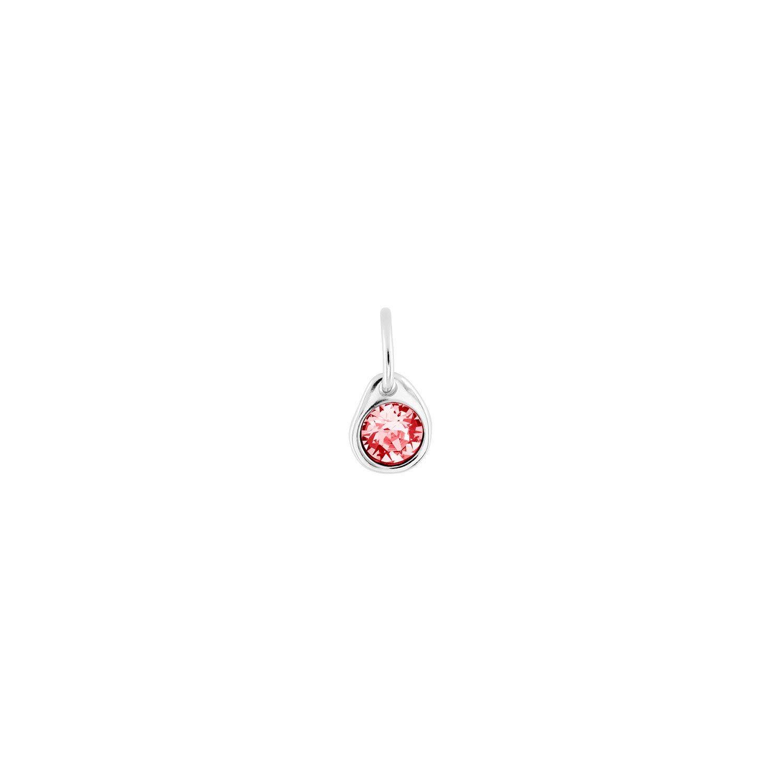 Uno de 50 Rose Charm Silver