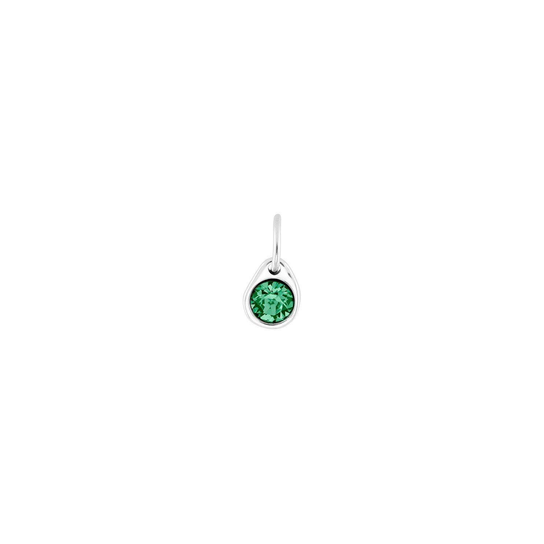 Uno de 50 Emerald Charm Silver