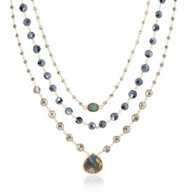 Three in One Ara Necklace Royal