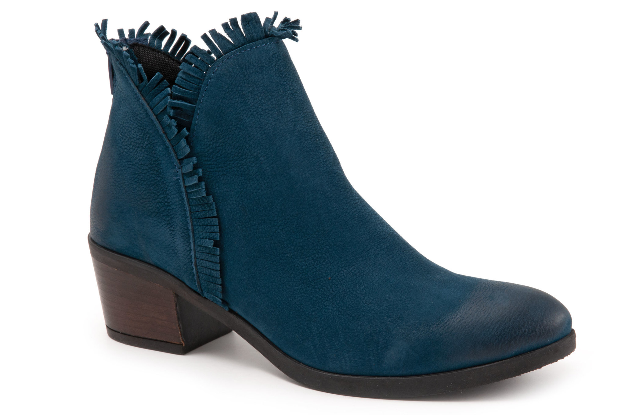 Cathy Boot Blue Nubuck