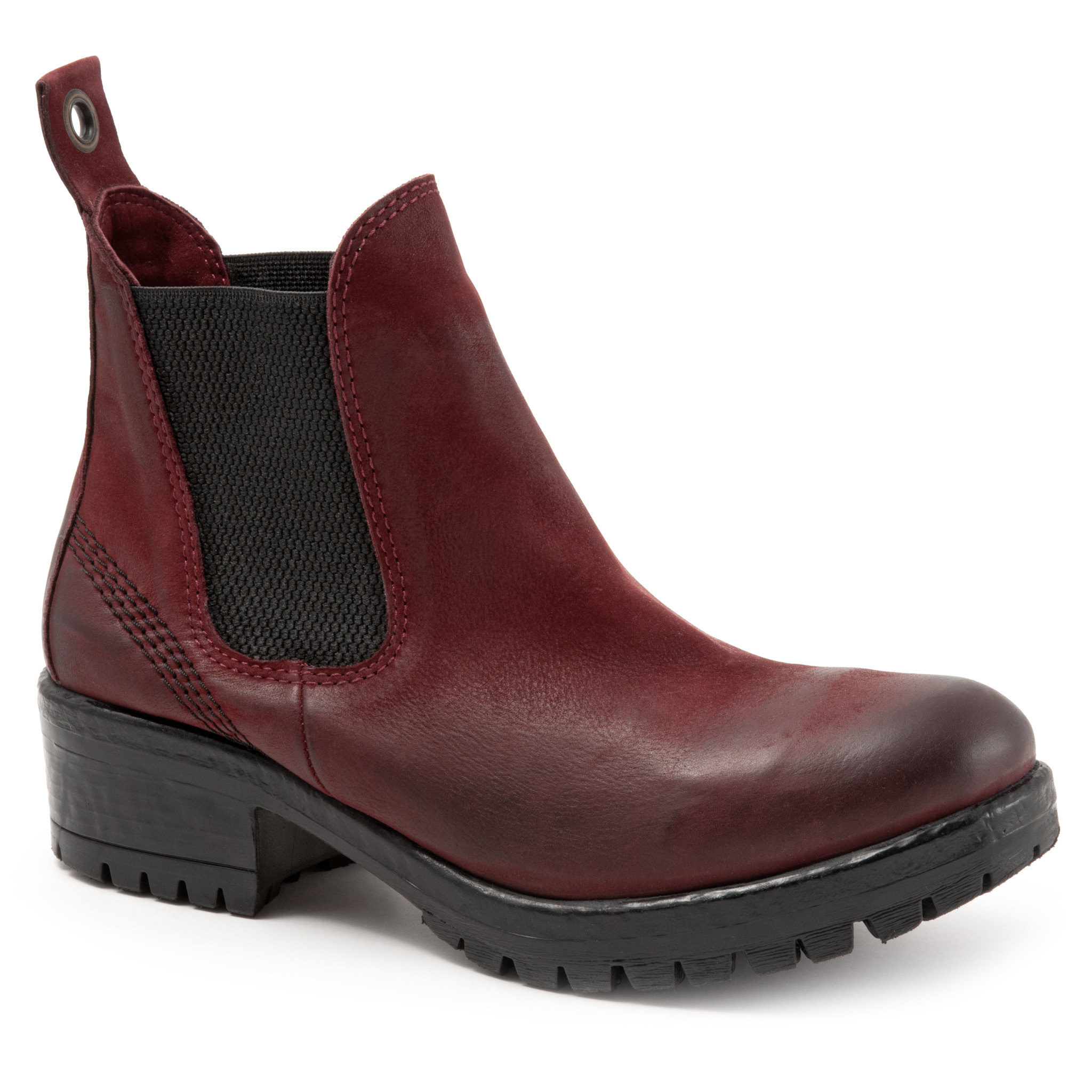 Florida Boot Dark Red Tulip Nubuck