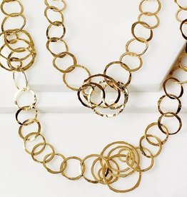 Carole Necklace Gold