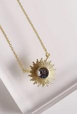Katherine Necklace Black Deco Diamond