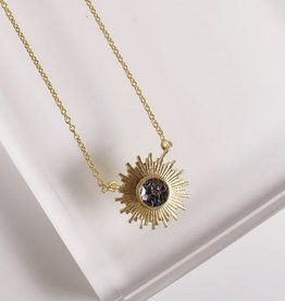 Katherine Necklace Black Deco Diamond