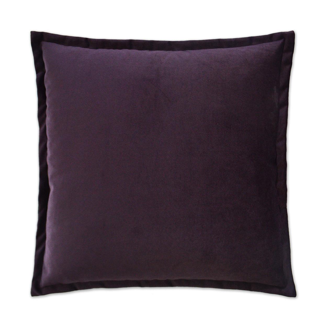 Belvedere Flange Pillow - Amethyst 24 x 24