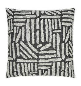 Quinn Pillow - Coal 22 x 22