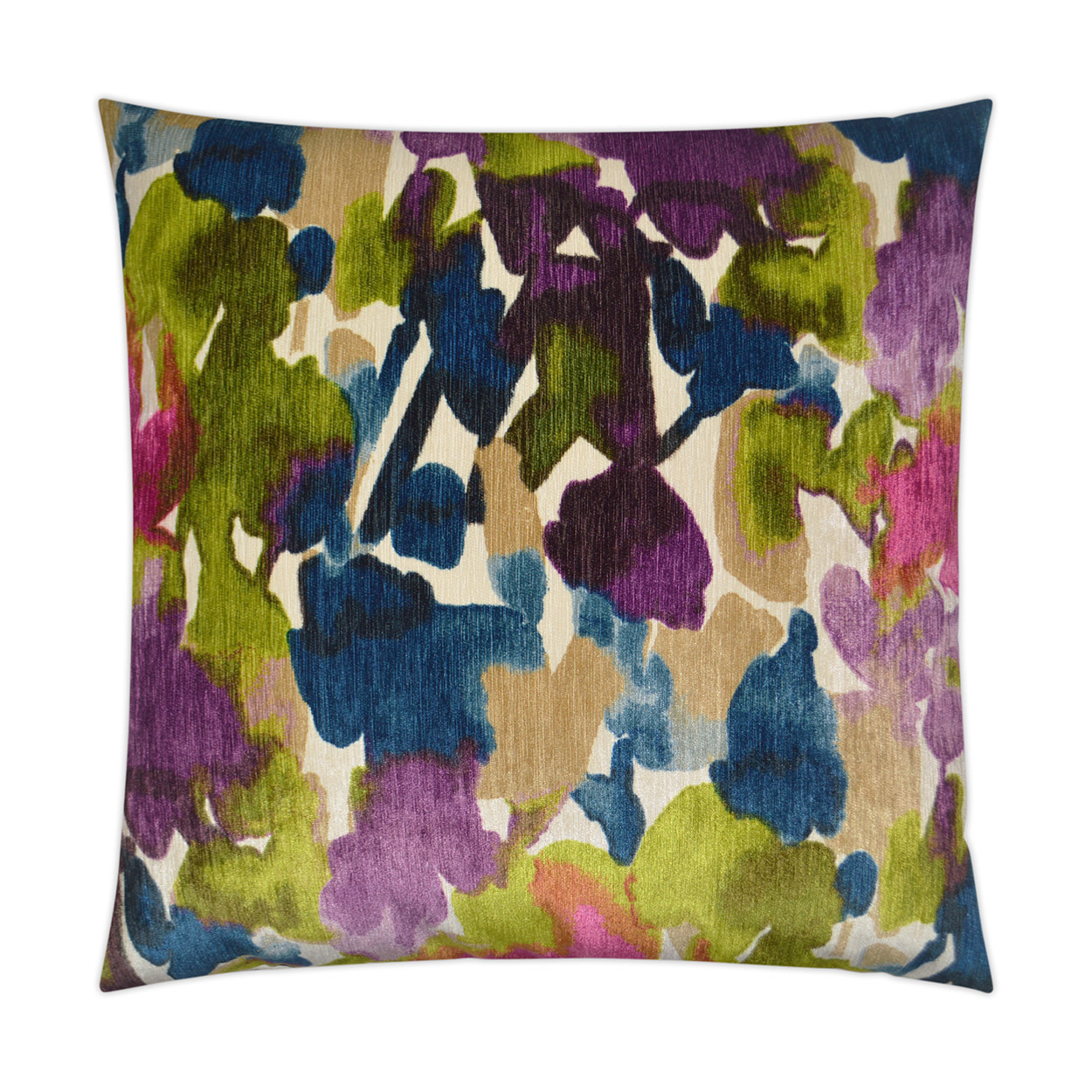 Aquarelle Pillow - Multi 24 x 24