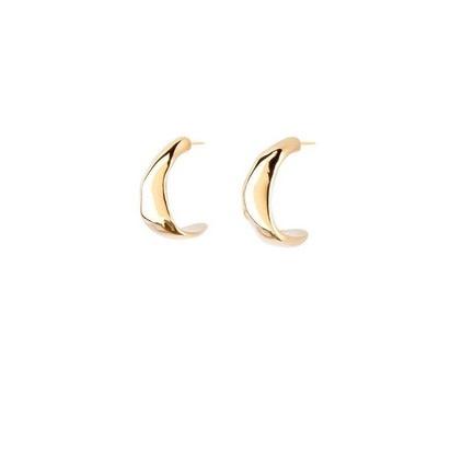 Uno de 50 Braided Earrings Gold