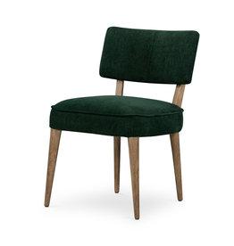 Orville Dining Chair - Emerald Worn Velvet