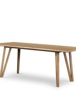 Leah Dining Table Whitewash on Oak
