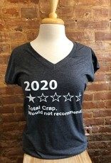 2020 V-Neck Tee H. Graphite