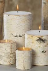 Birchwood Frangrance Free Pillar Candle - Large