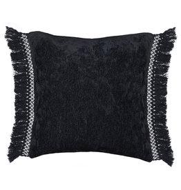 Melia Pillow Black - 20 x 20