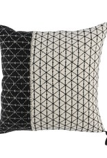 Bakari Pillow Black/Ivory - 20 x 20