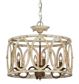 Sophie Semi Flush Chandelier