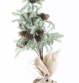 "Burlap Tree 16"""