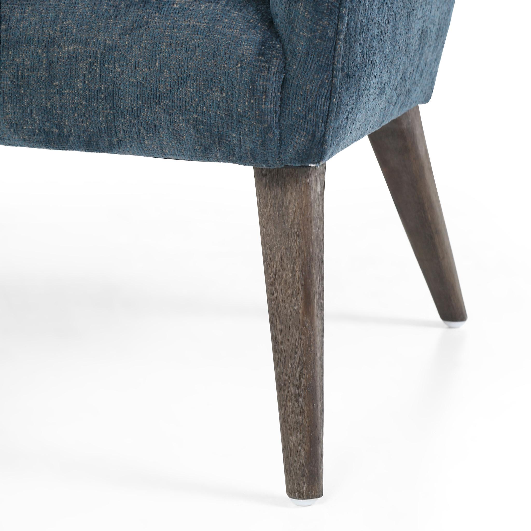 Hollis Chair - Plushtone Azure