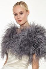 Ostrich Shawl Grey