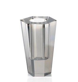 Rita Crystal Vase - Smoke