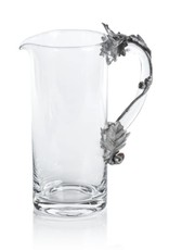 St. Anton Pewter & Glass Pitcher
