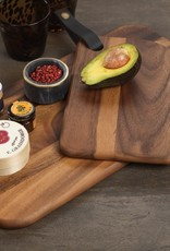 Bali Cheese Board with Leather Strap