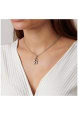 Uno de 50 Uno de 50 Initial Necklace - Silver/Short