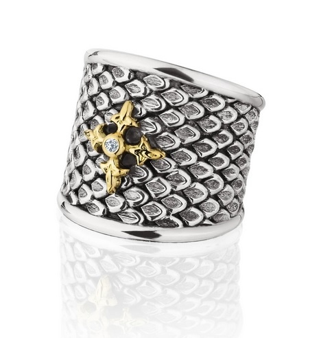 Signature Wide Shank Ring Diamond
