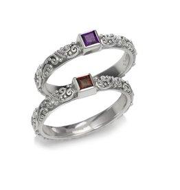 Mini Jawan Ring Amethyst