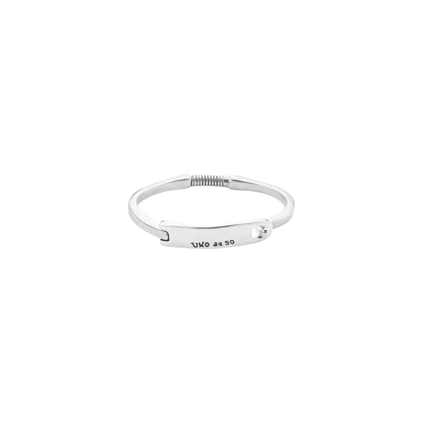 Uno de 50 Mars Bracelet Silver