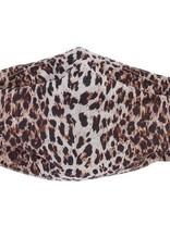 Ombre Leopard Mask Oatmeal