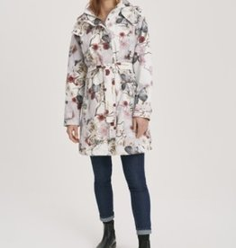 Multifloral Trench Coat