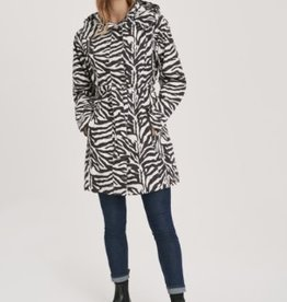 Zebra Trench Coat