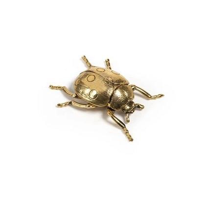 Decorative Gold Ladybug