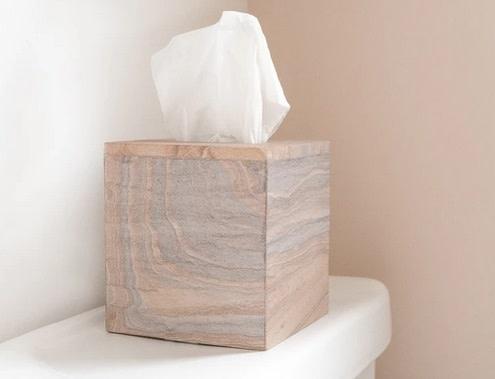 Rainbow Sandstone Tissue Box