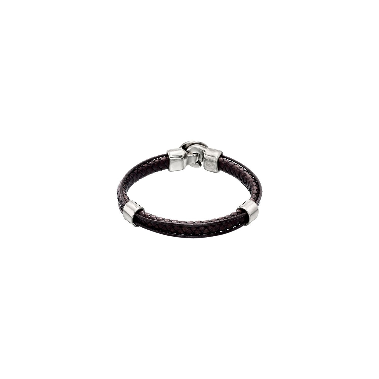 Uno de 50 Crossing Bracelet Brown - XL