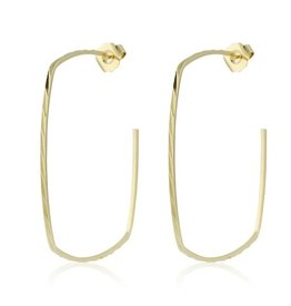 Sally Squares Earring Gold