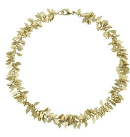 Leaf Choker Gold