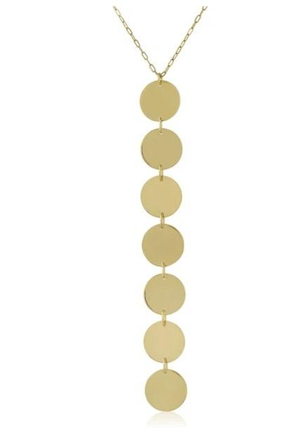 Doris Drop Necklace Gold